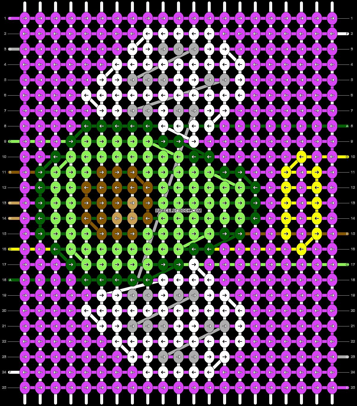 Alpha pattern #34445 pattern