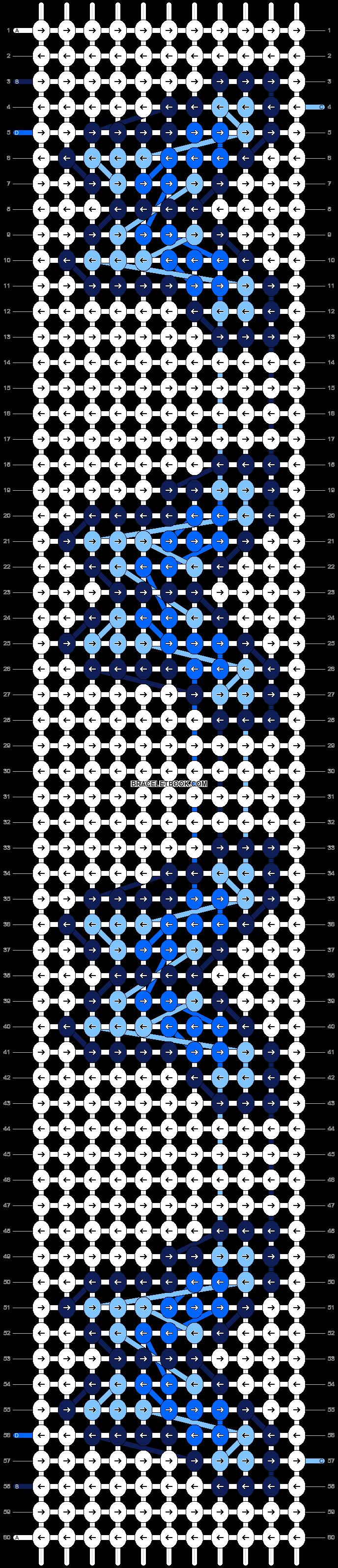 Alpha pattern #34447 pattern