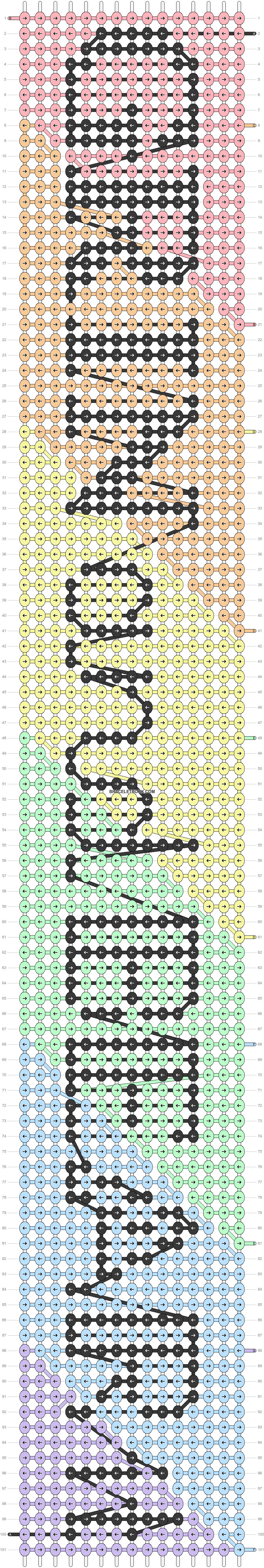 Alpha pattern #34502 pattern