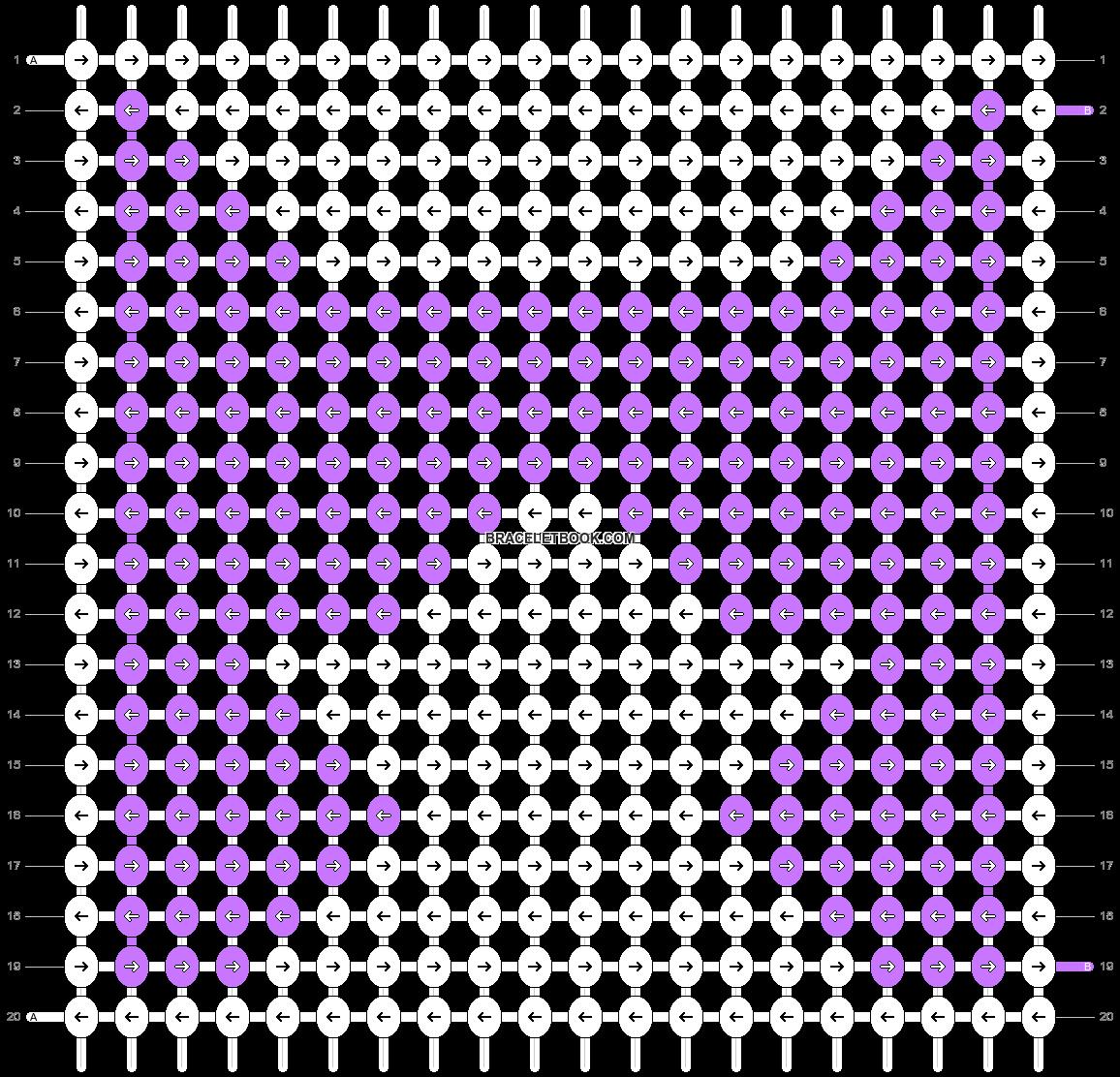 Alpha pattern #34524 pattern