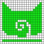 Alpha pattern #34552