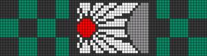 Alpha pattern #34567