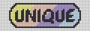 Alpha pattern #34568