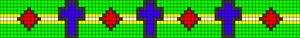 Alpha pattern #34654