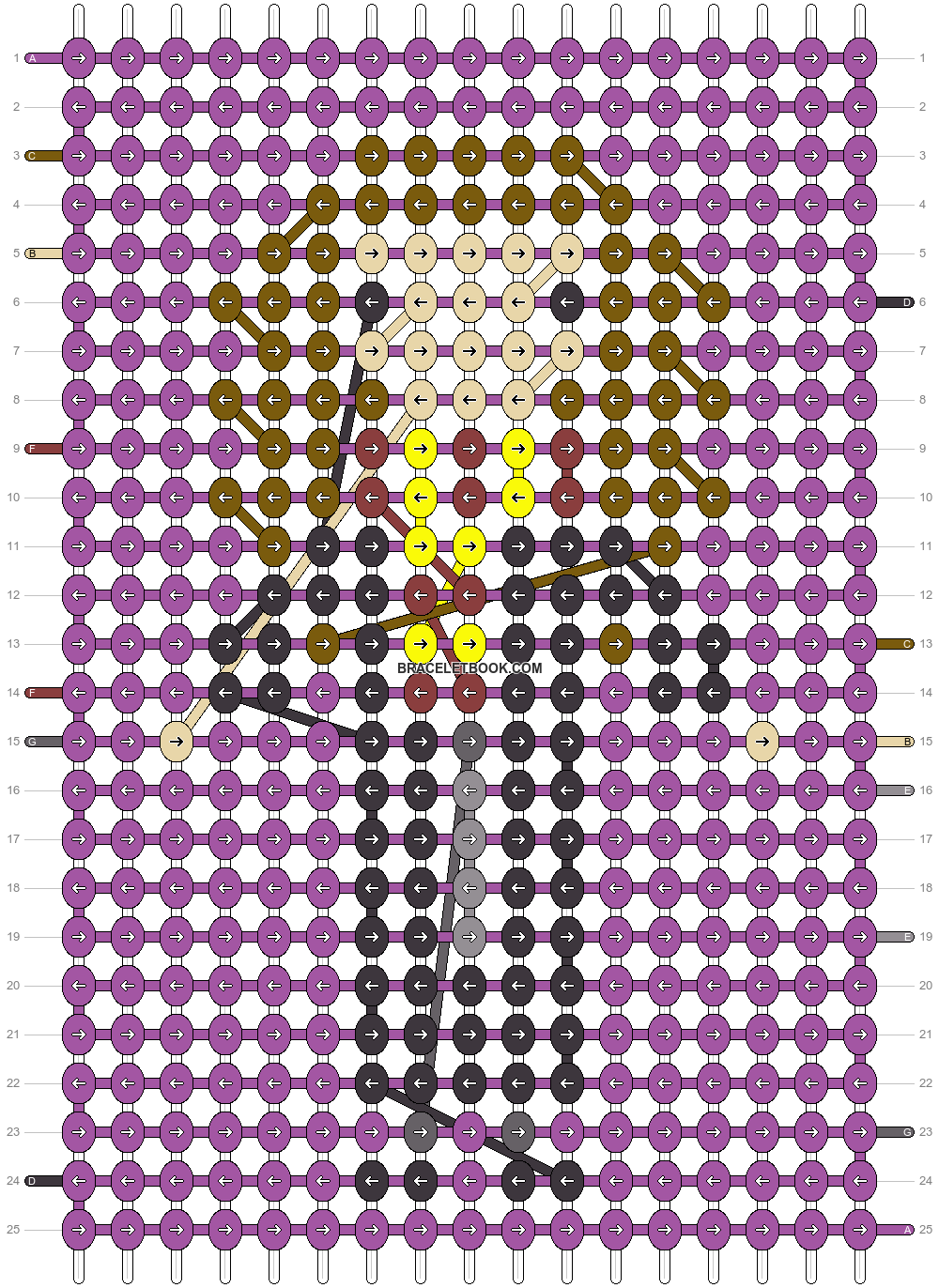Alpha pattern #34687 pattern