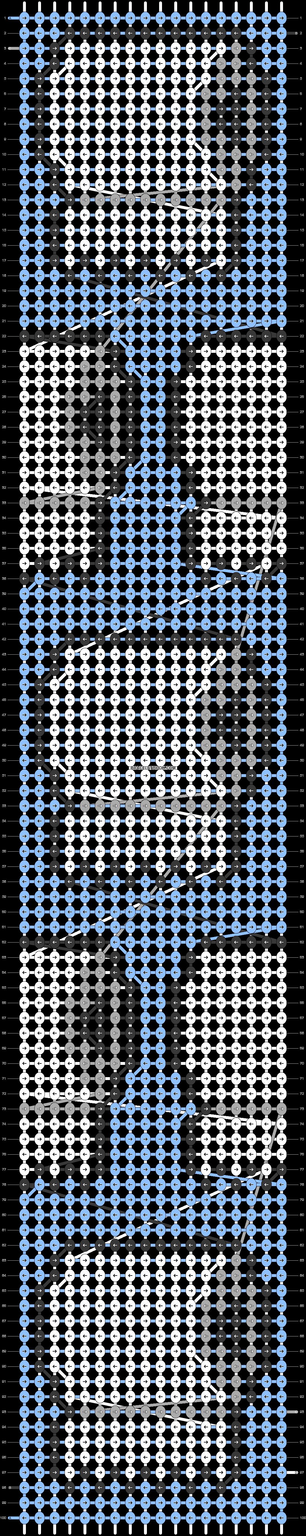 Alpha pattern #34737 pattern