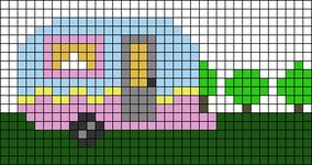 Alpha pattern #34812