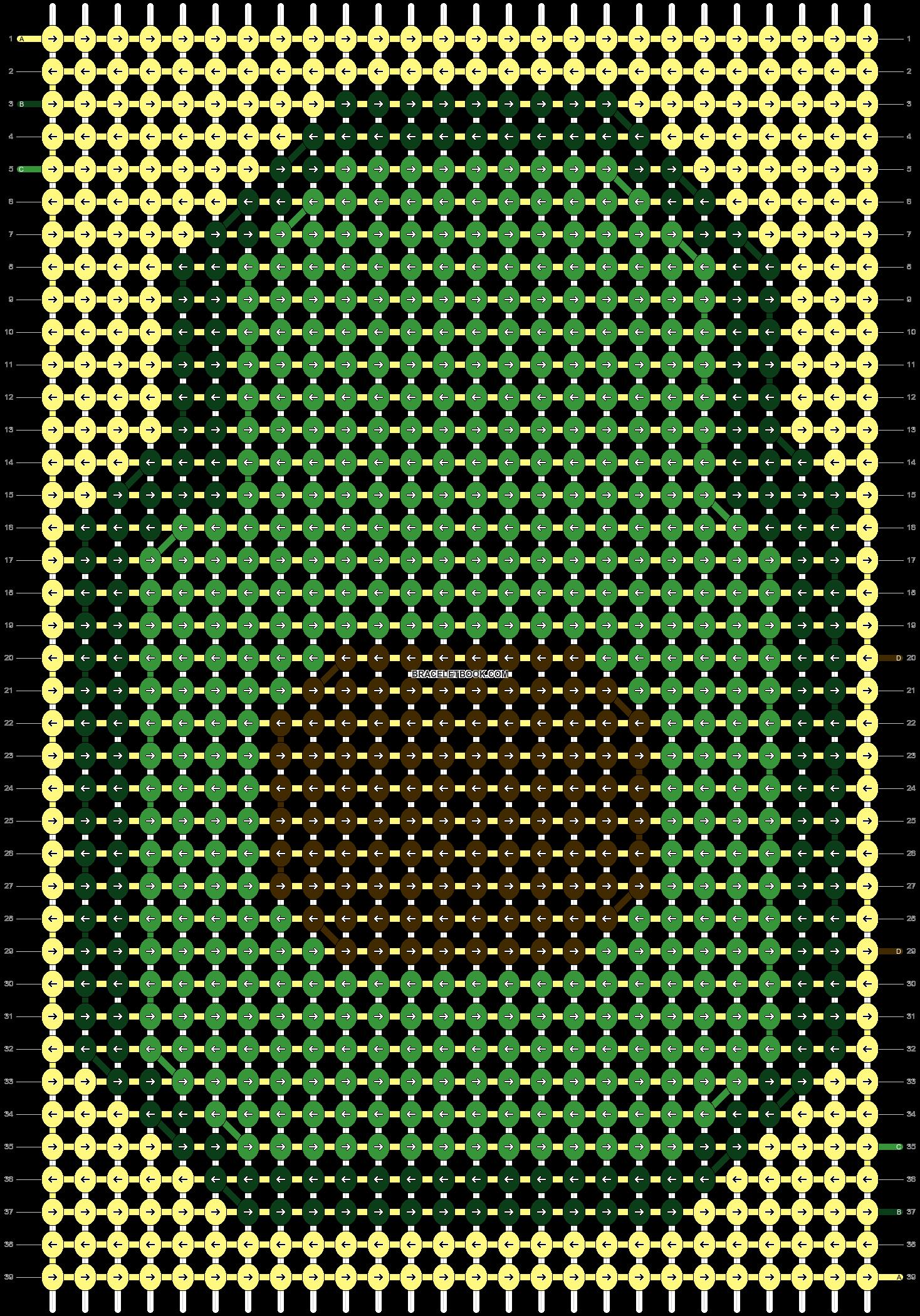 Alpha pattern #34818 pattern