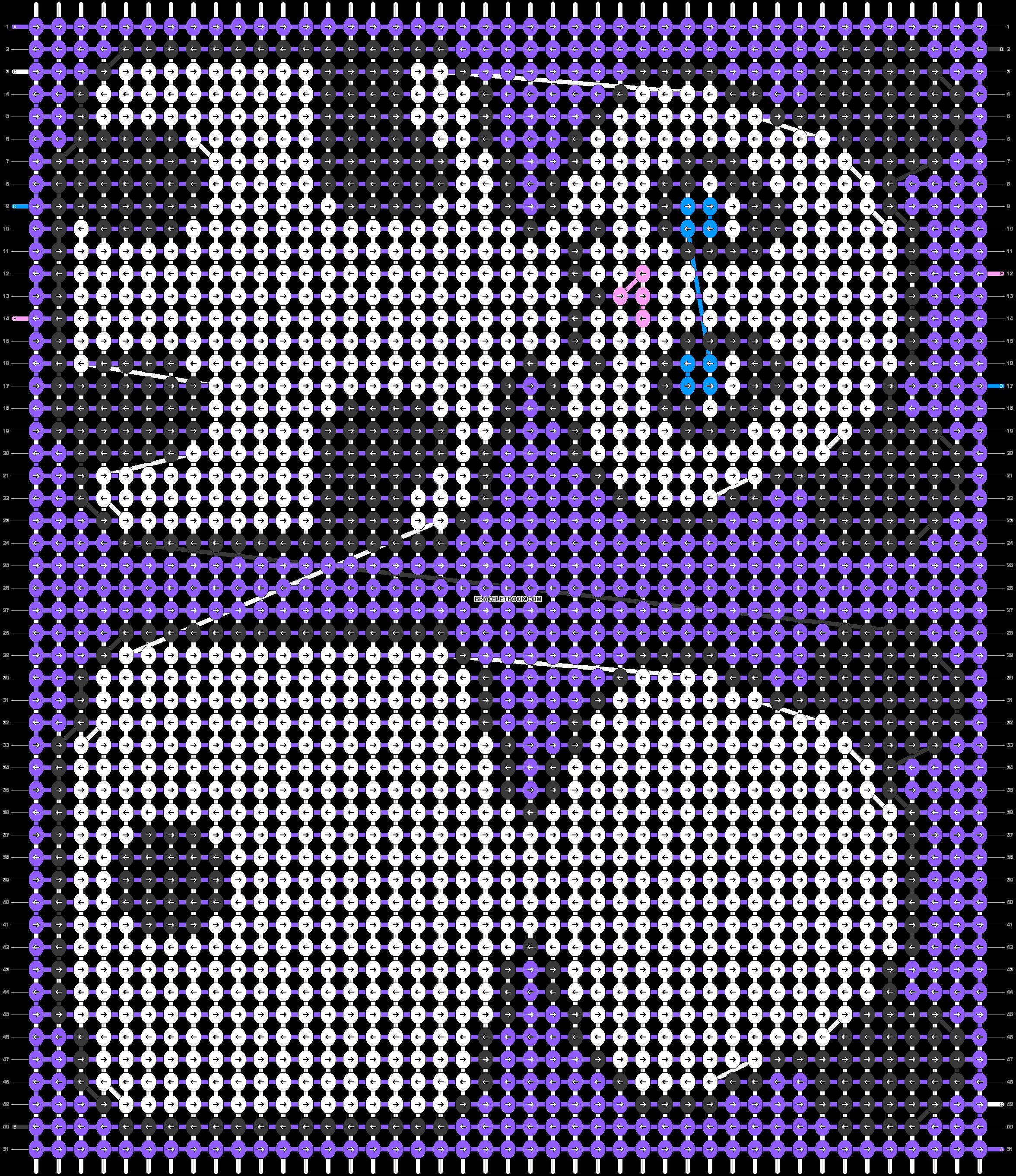 Alpha pattern #34838 pattern