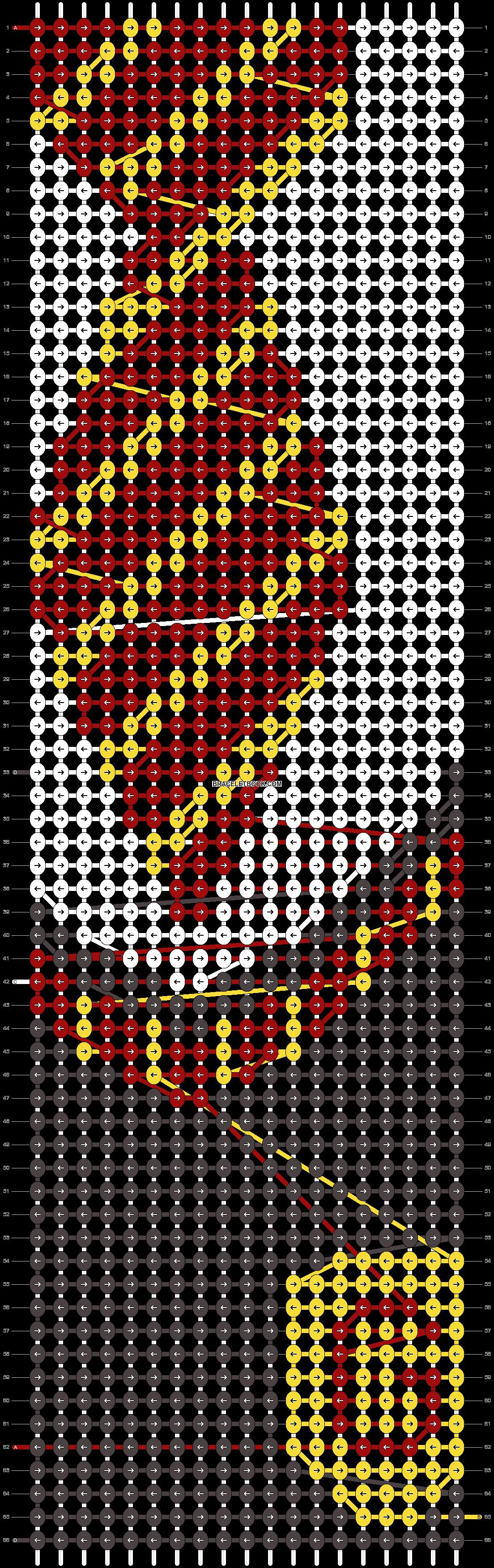 Alpha pattern #34840 pattern