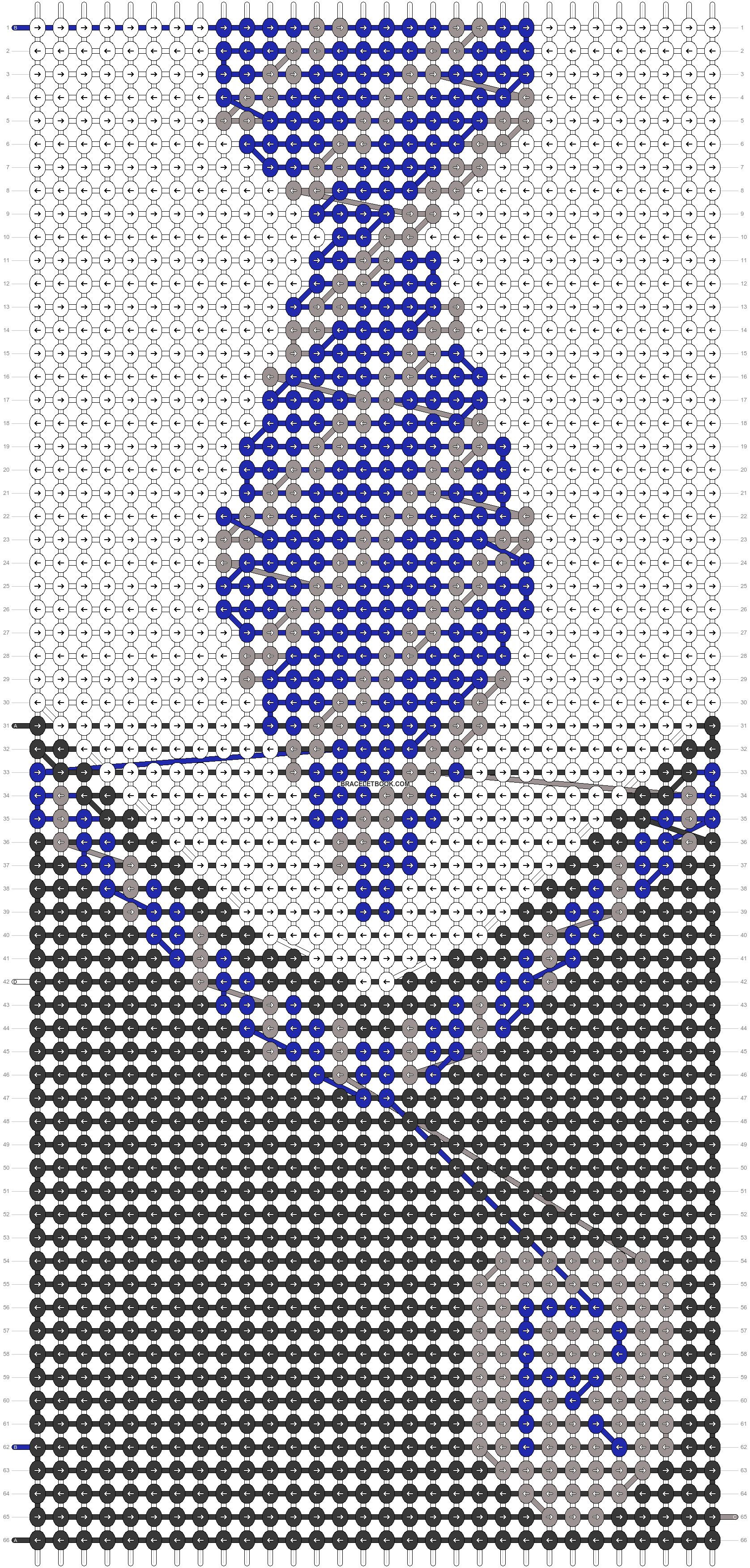 Alpha pattern #34857 pattern