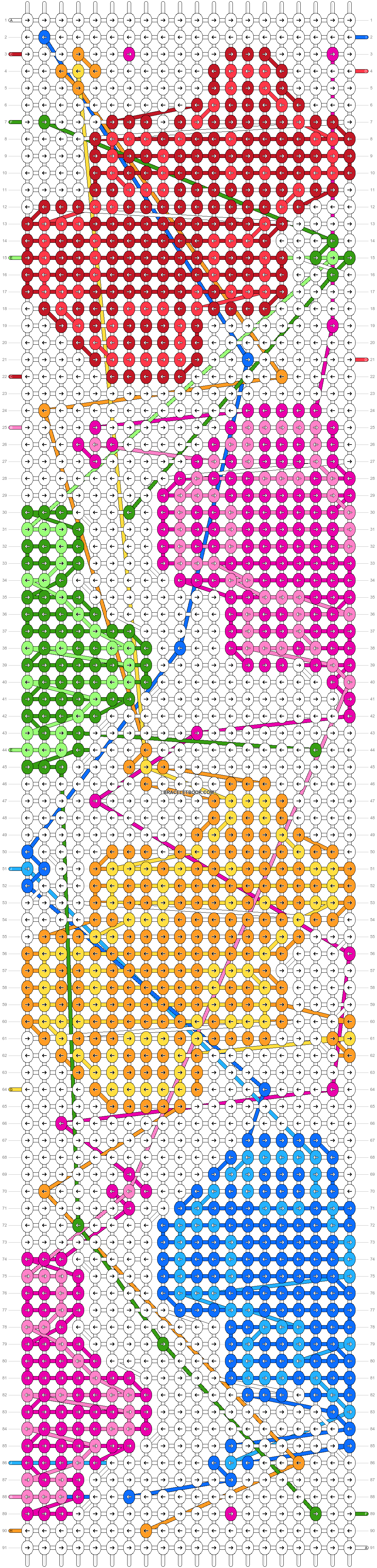 Alpha pattern #34860 pattern