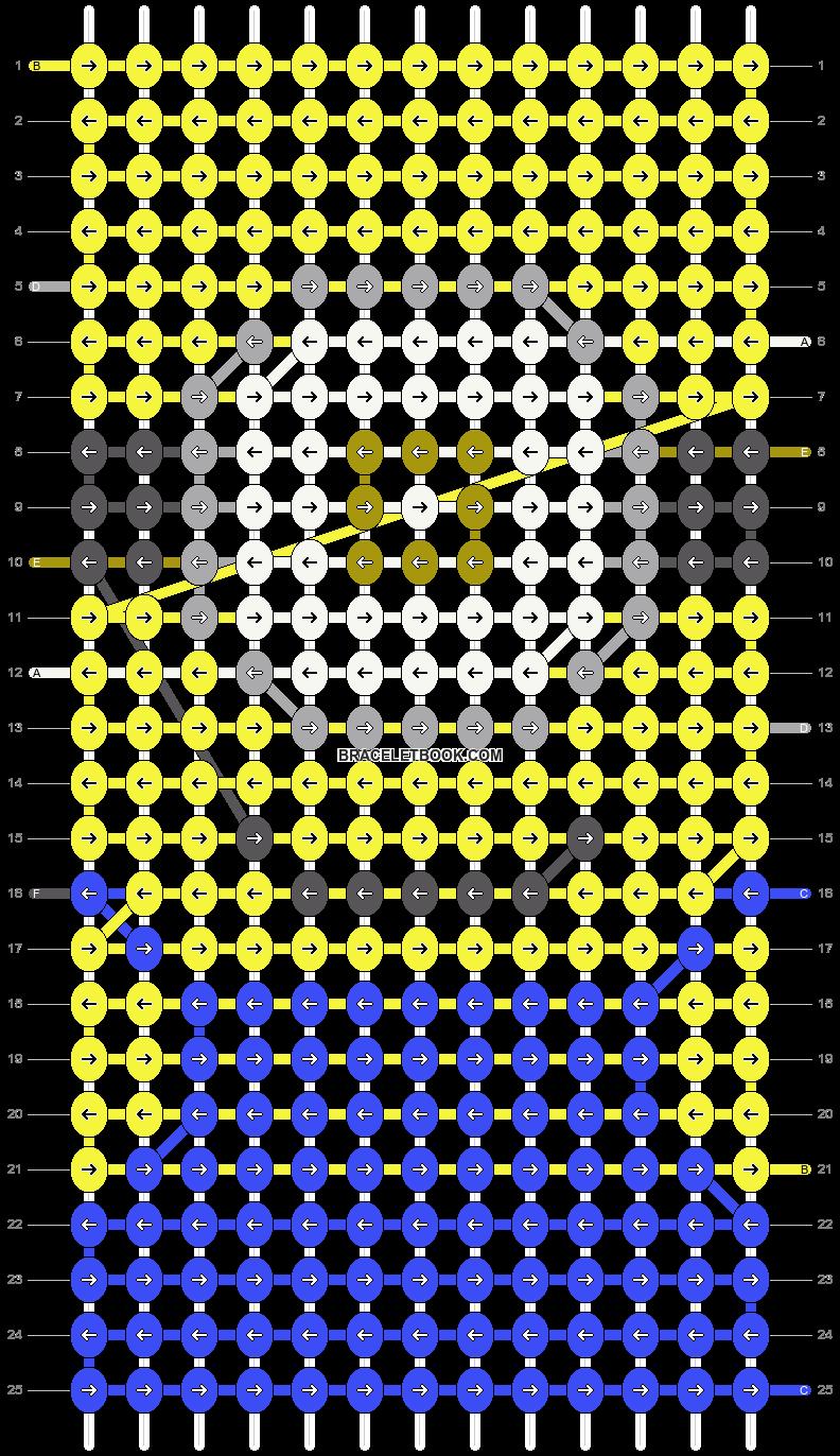 Alpha pattern #34866 pattern