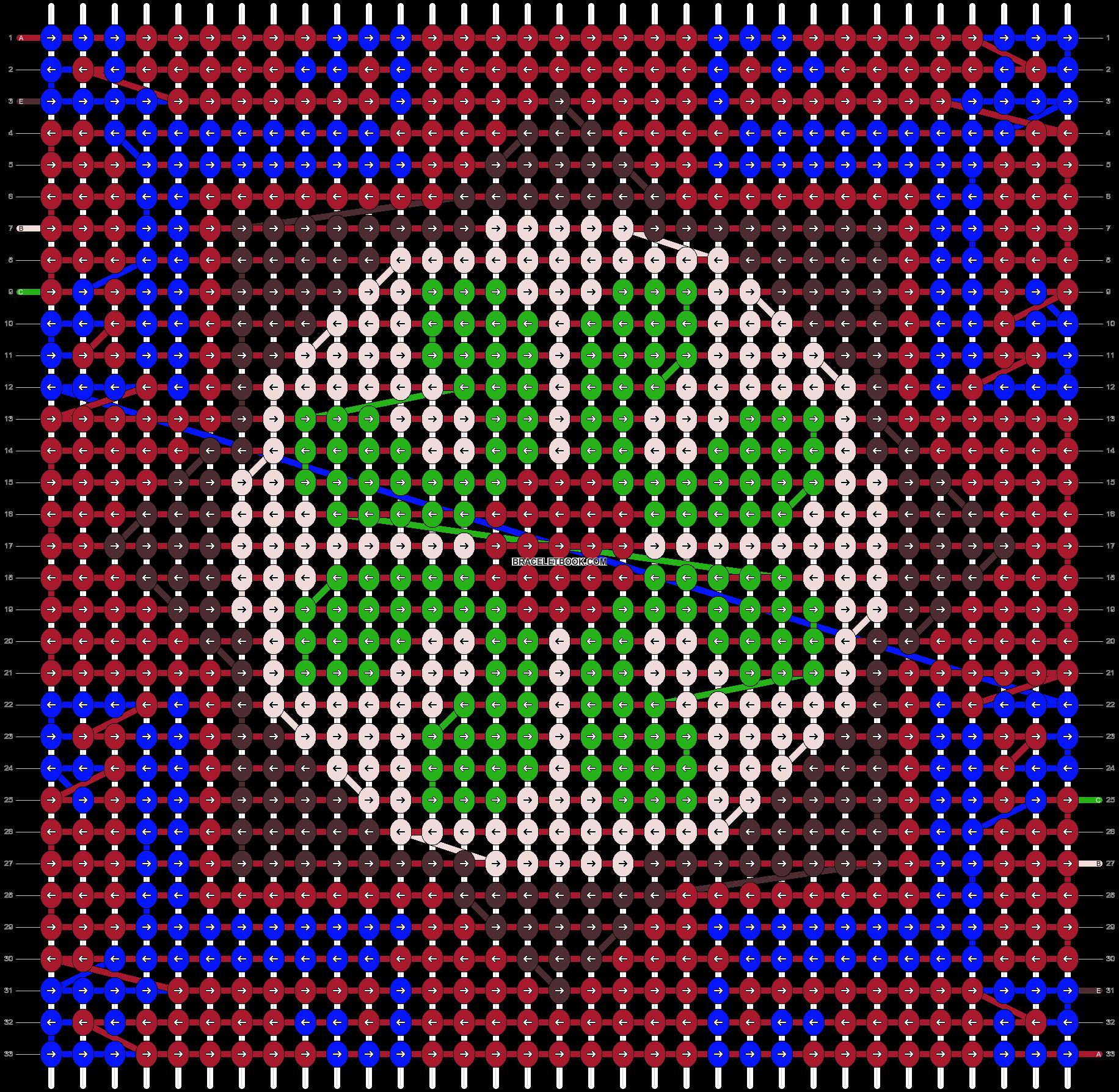 Alpha pattern #34871 pattern
