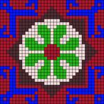 Alpha pattern #34871