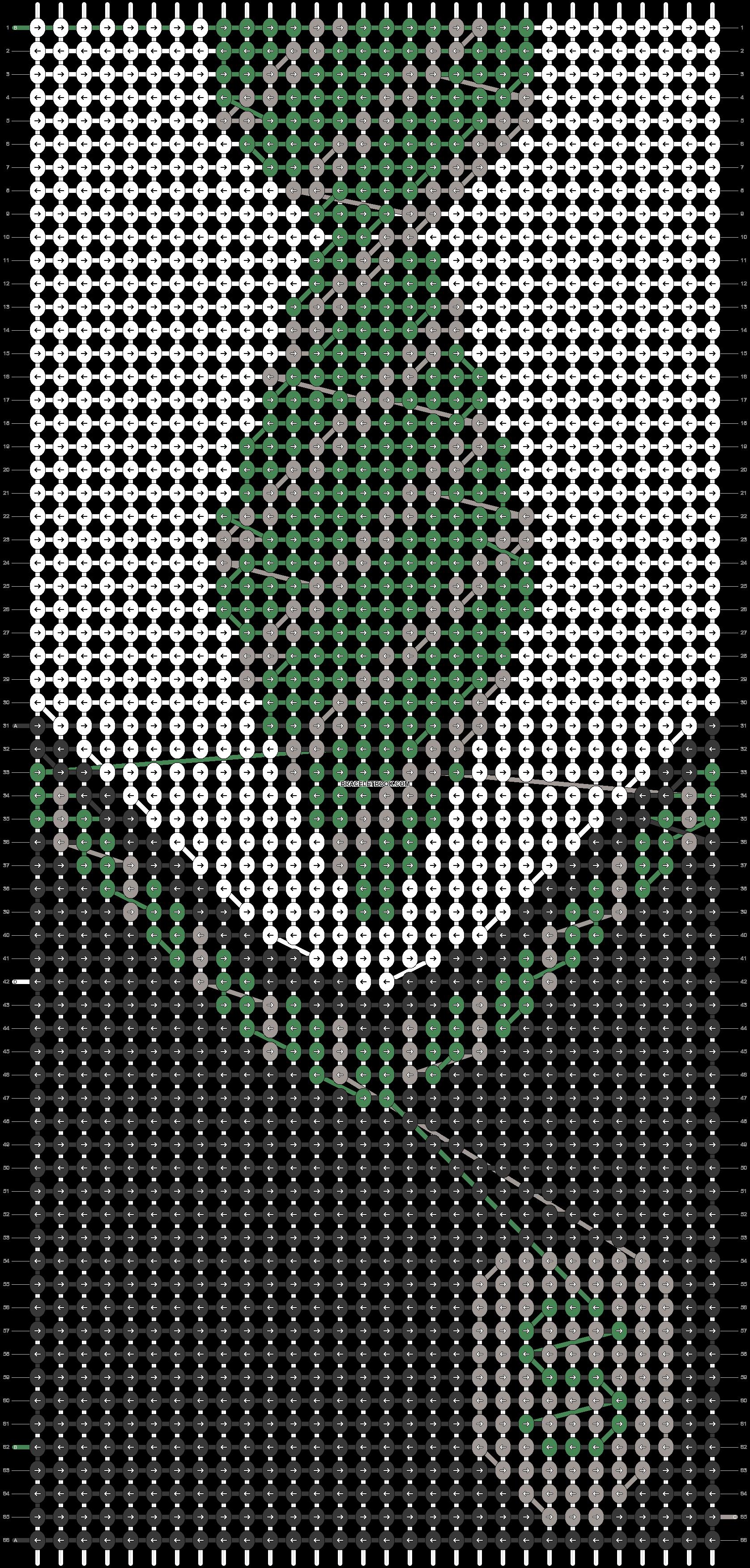 Alpha pattern #34873 pattern