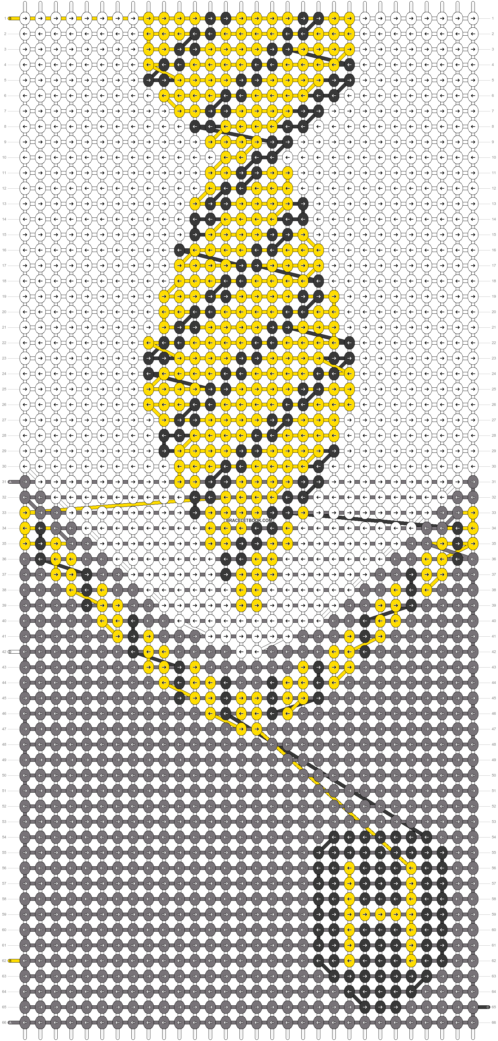 Alpha pattern #34874 pattern