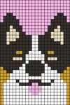 Alpha pattern #34884