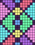 Alpha pattern #34885