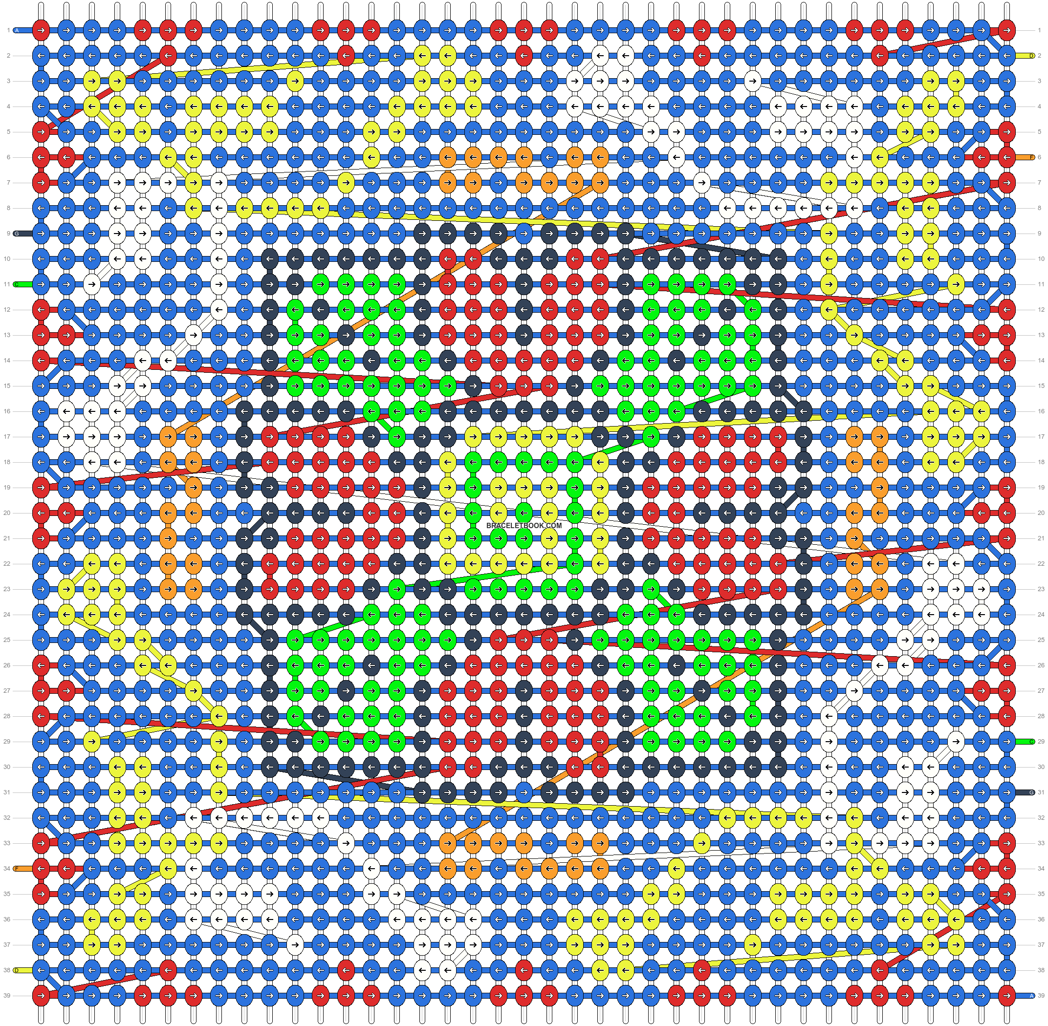 Alpha pattern #34899 pattern