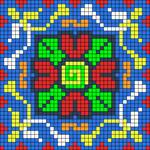 Alpha pattern #34899