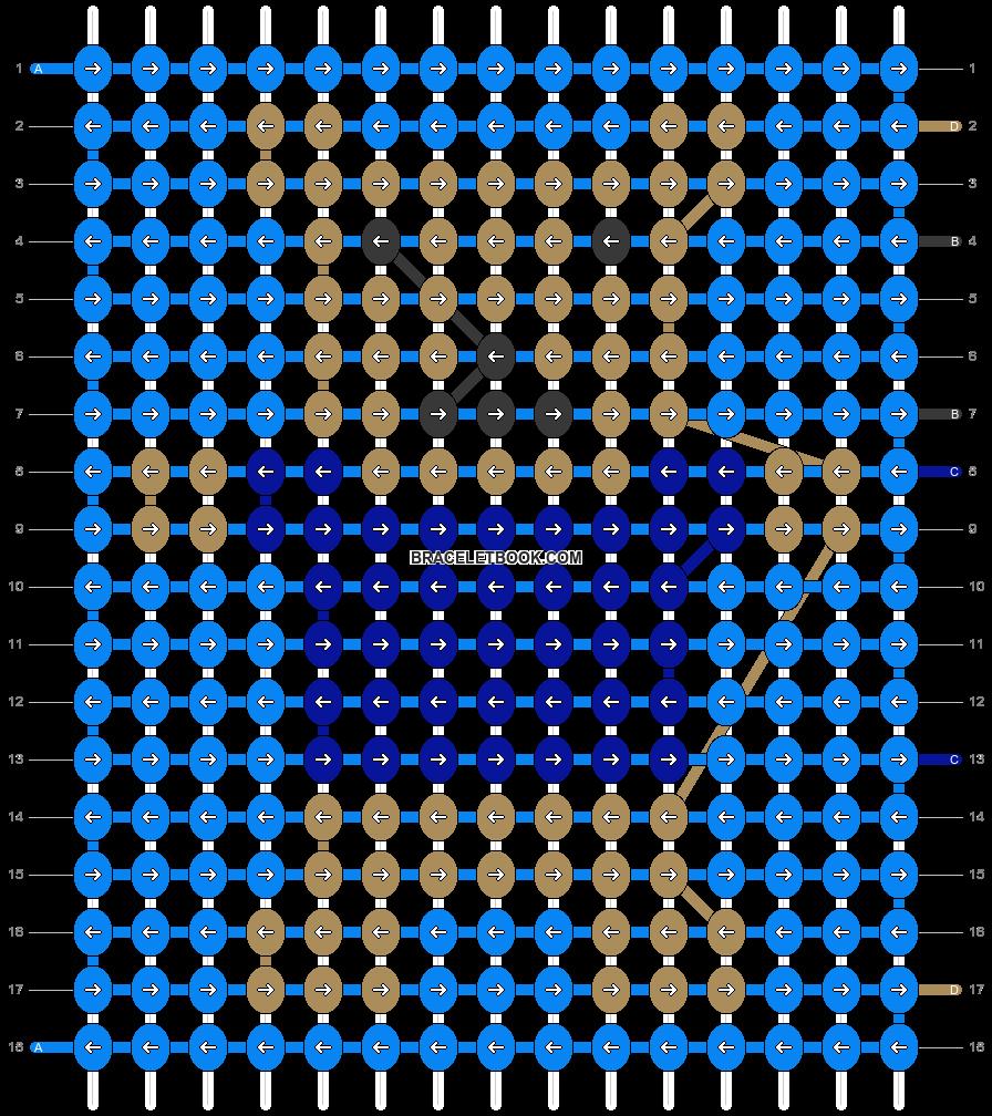 Alpha pattern #34915 pattern