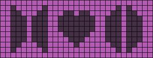Alpha pattern #34968