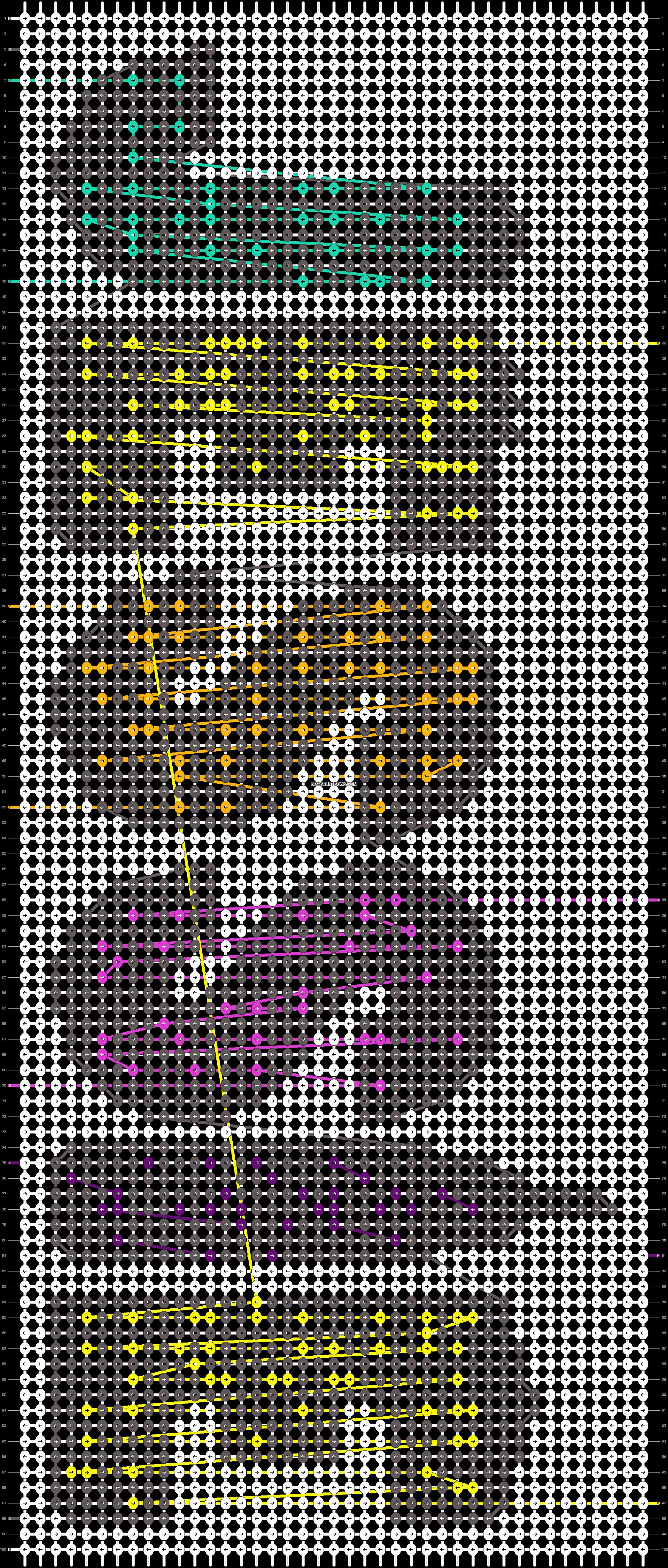 Alpha pattern #34971 pattern