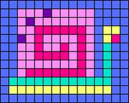 Alpha pattern #34985
