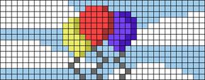 Alpha pattern #34996