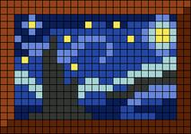 Alpha pattern #35013
