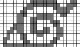 Alpha pattern #35023