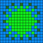 Alpha pattern #35034