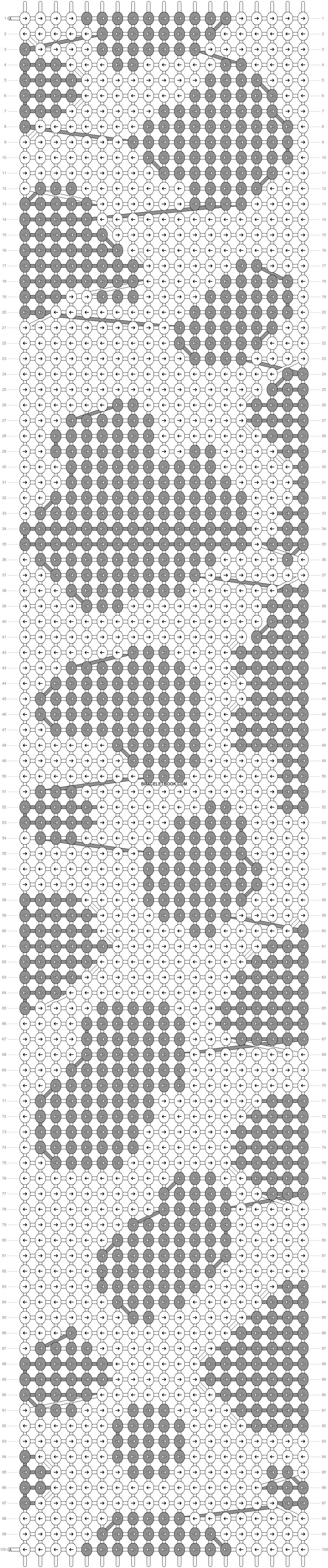 Alpha pattern #35069 pattern