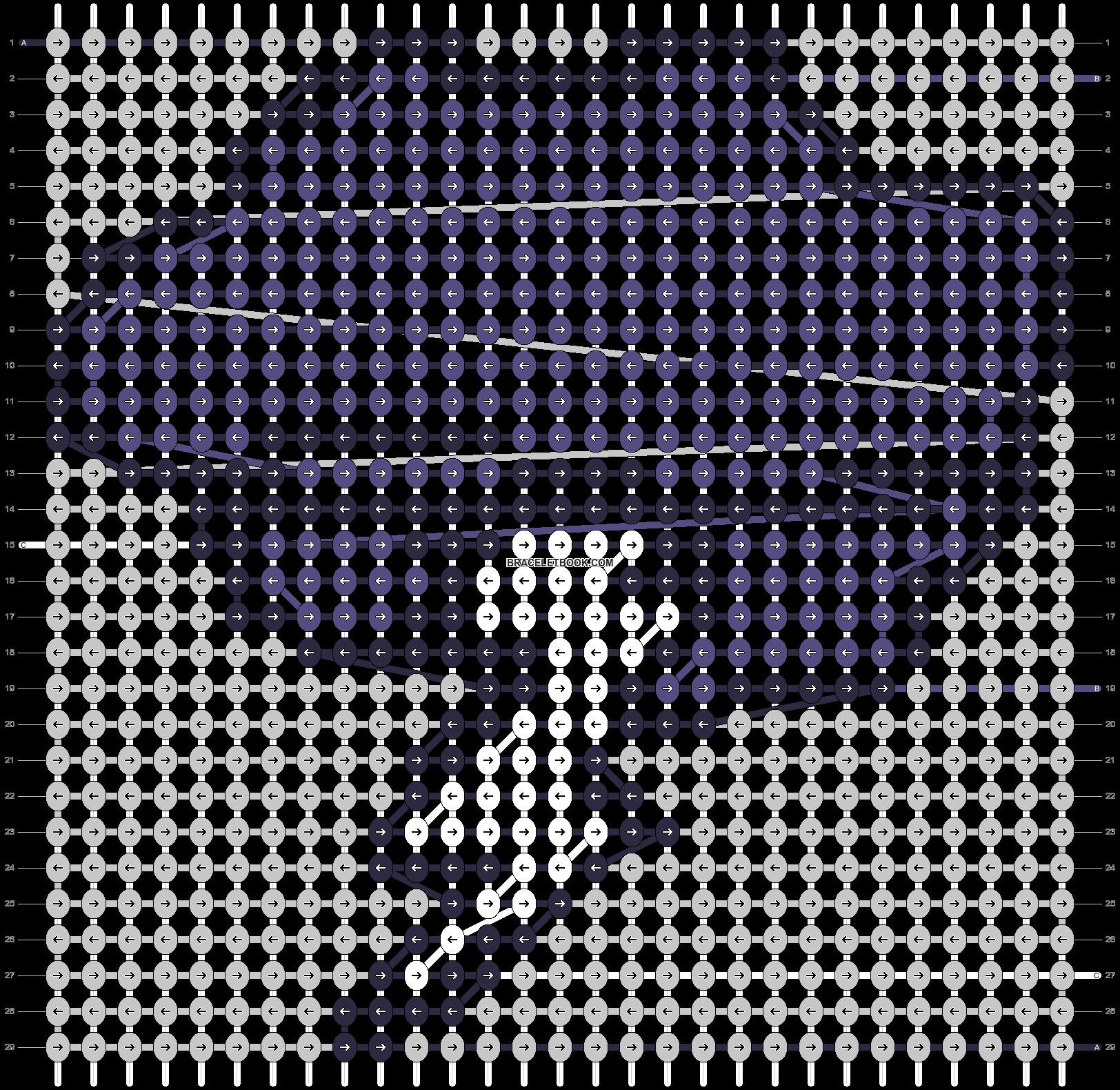 Alpha pattern #35087 pattern