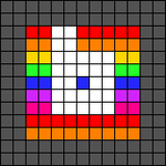 Alpha pattern #35100