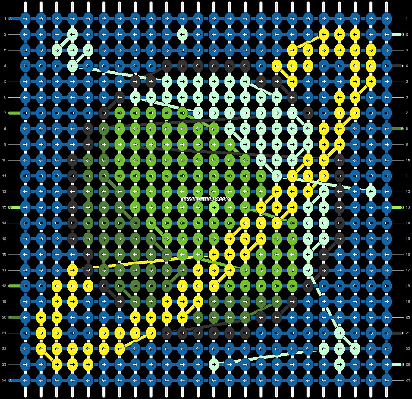 Alpha pattern #35129 pattern