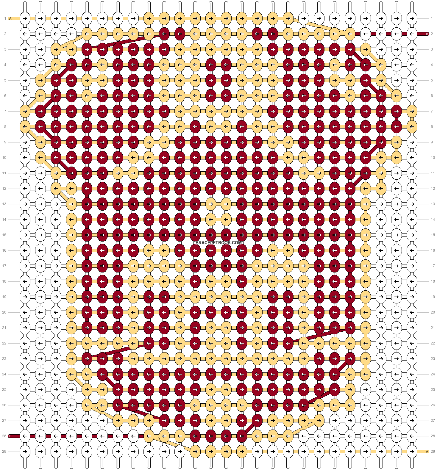 Alpha pattern #35249 pattern