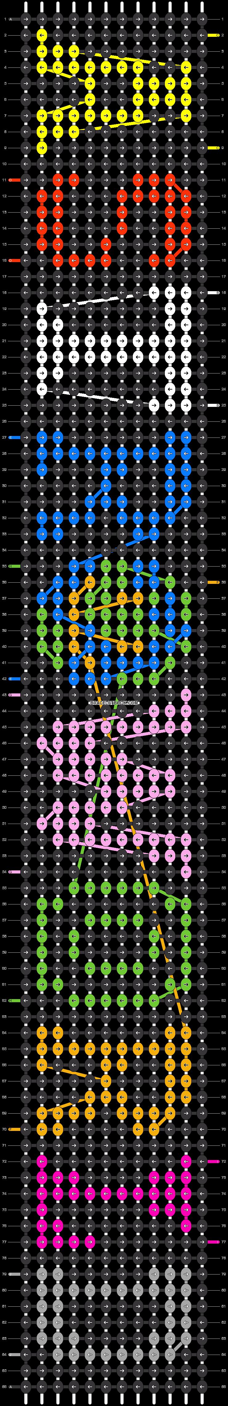 Alpha pattern #35301 pattern