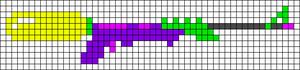 Alpha pattern #35334