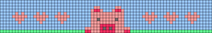 Alpha pattern #35349