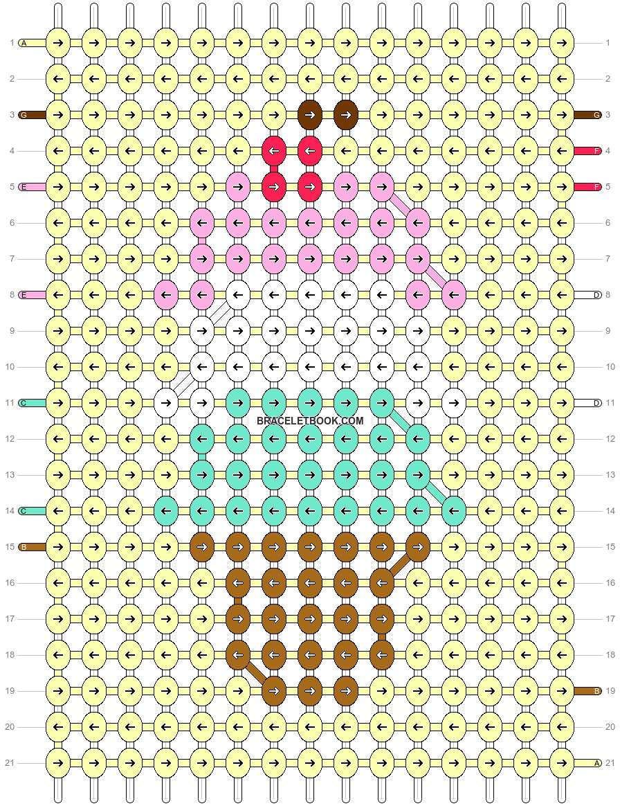 Alpha pattern #35357 pattern