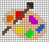 Alpha pattern #35367