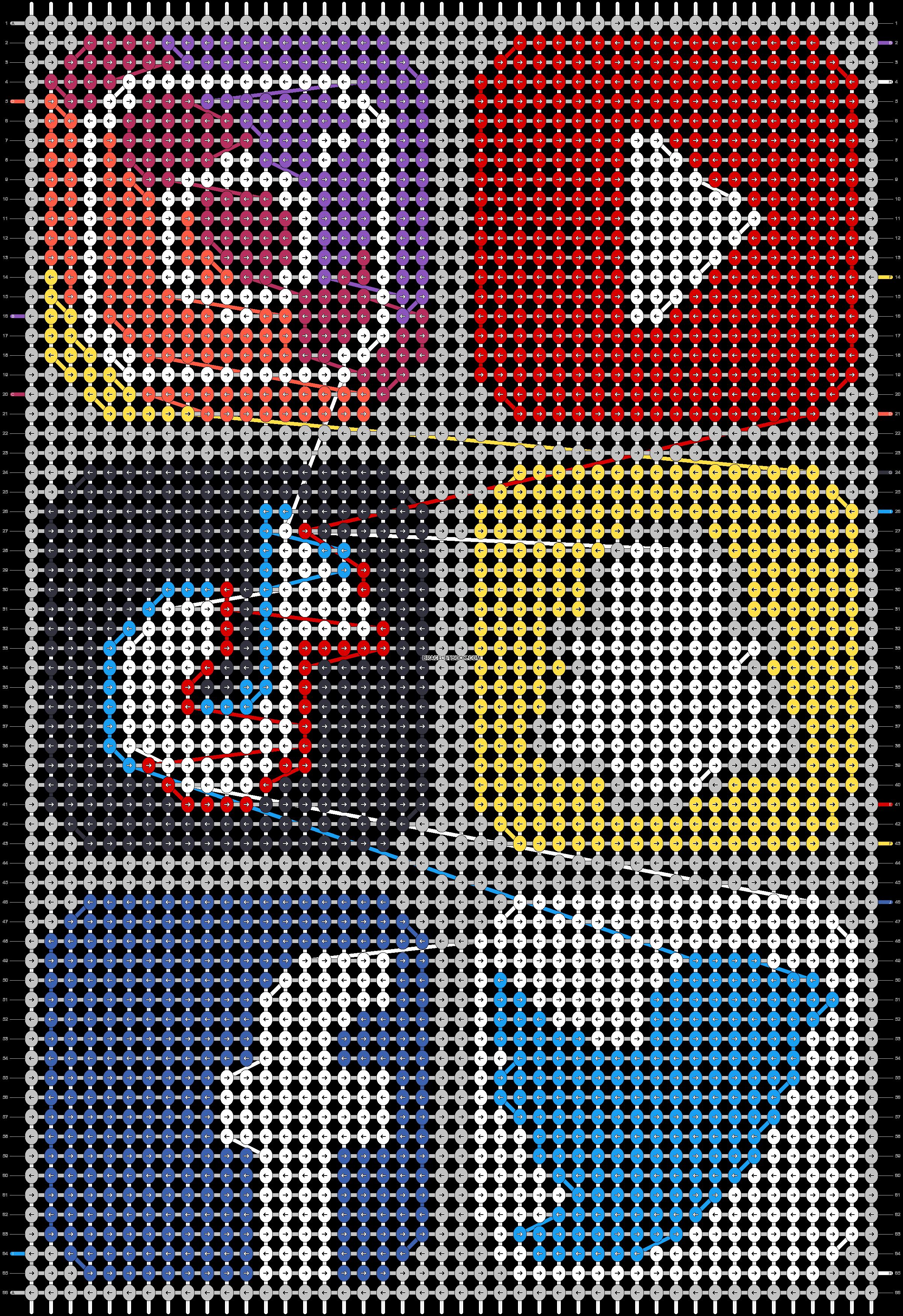 Alpha pattern #35413 pattern