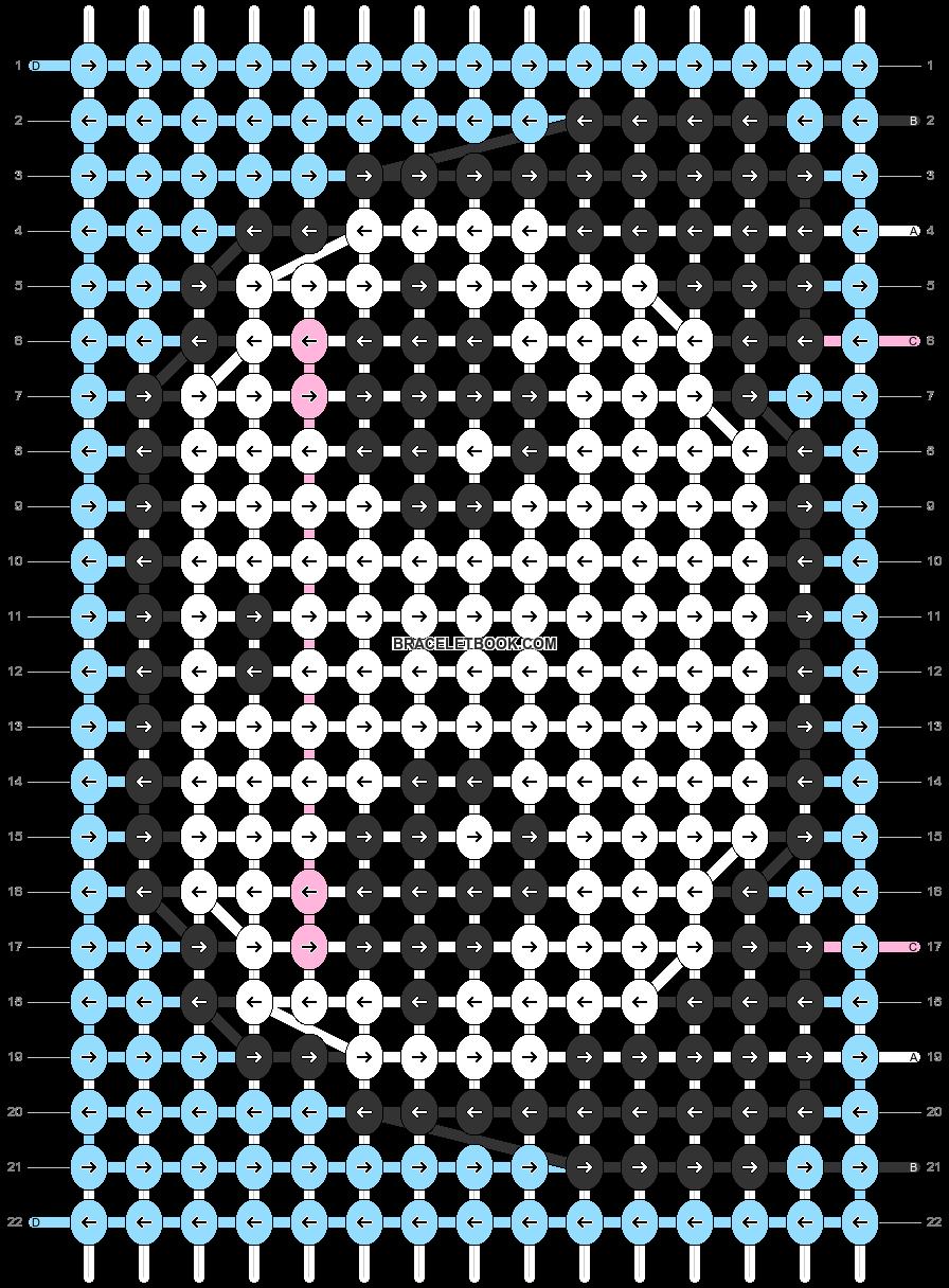 Alpha pattern #35445 pattern