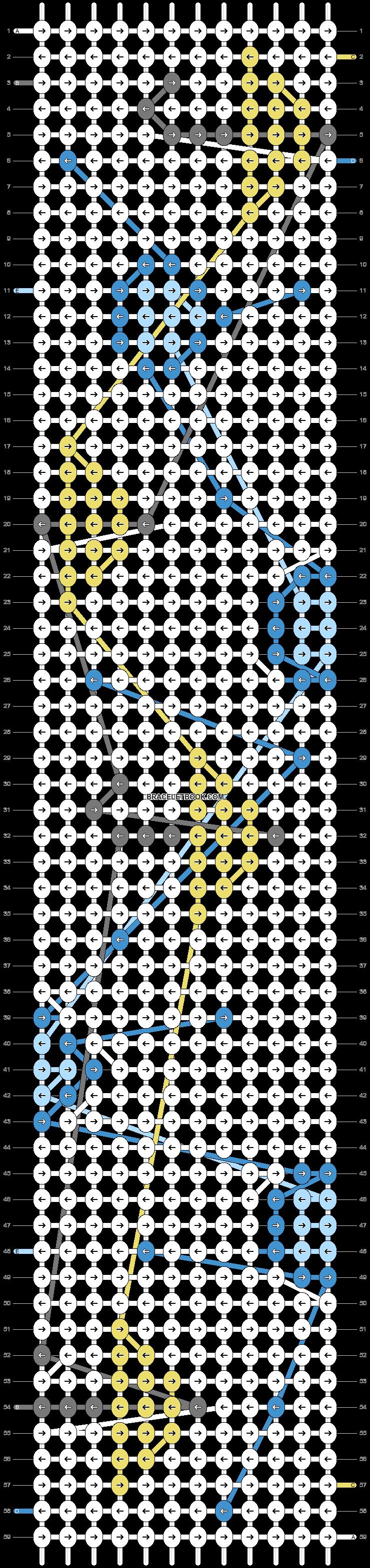 Alpha pattern #35447 pattern