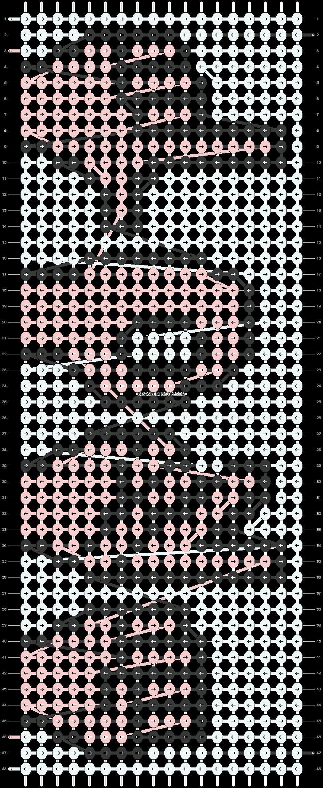 Alpha pattern #35454 pattern