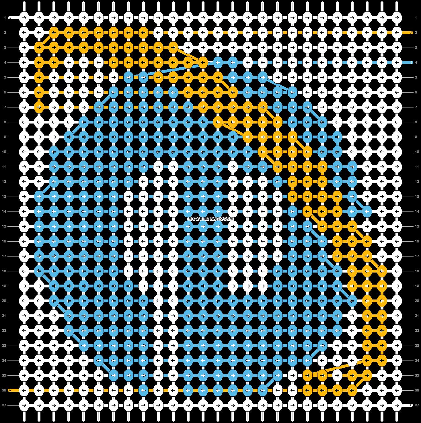 Alpha pattern #35463 pattern