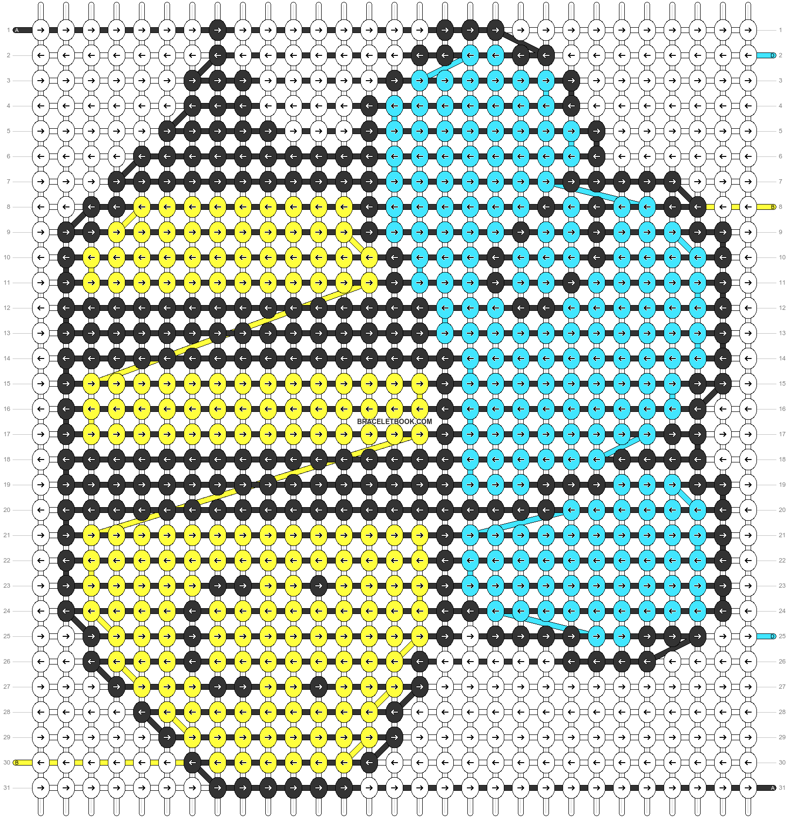 Alpha pattern #35468 pattern