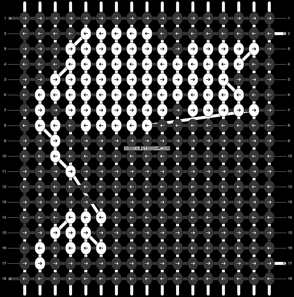Alpha pattern #35475 pattern